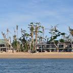 Zerstörung durch Zyklon Yasi auf Dunk Island
