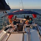 Rauschefahrt vom Arlington Reef zurück nach Cairns bei Sonnenuntergang