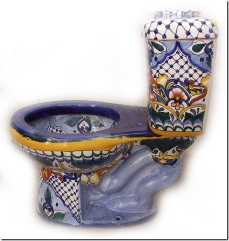 mexican toilette