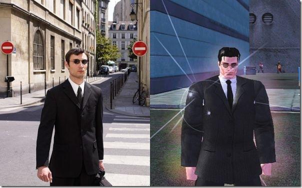 Pessoas reais vs Personagens de games (9)