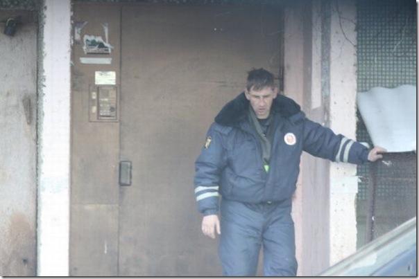 Policiais russos bebados (2)