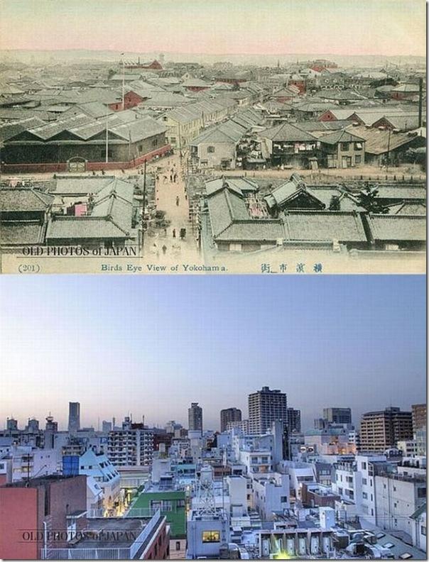 Fotos do Japão antes e depois (2)