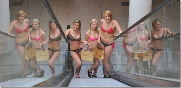 Shopping Mall Undressed 100 Girls  (1)
