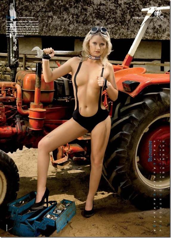Sexy calendario das garotas do campo na Alemanha (12)