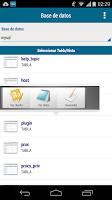 Screenshot of vcrox mysql client