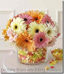 jellybean- flowers-table- centrepieces-wallpaper