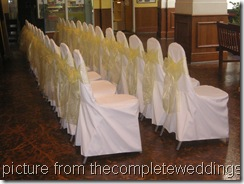 Wedding Chair Covers 021