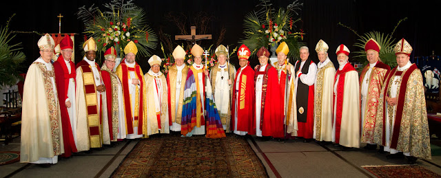 Bishop Benhase consecration