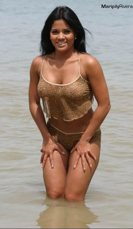 Roberto Alomar Girlfriend, Porto Rican Model Maripily Rivera picture