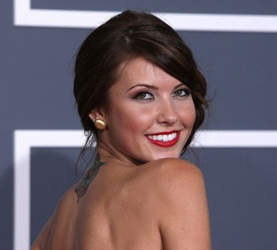 Audrina Patridge shoulder photo