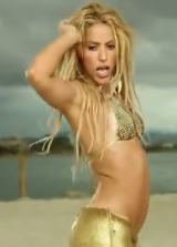 Shakira Dances In Bikini For Loca Music Video picture