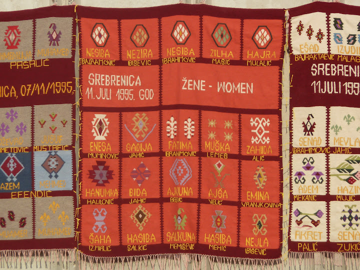 Quilts made by the Women of Srebrenica