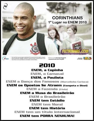 Corinthians ENEM