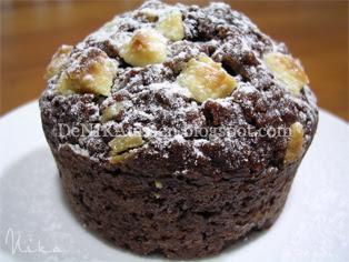 muffins de avena y chocolate