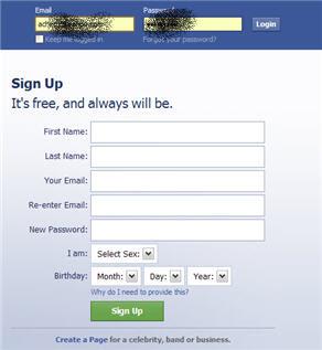 Mudah : Mendaftar Facebook