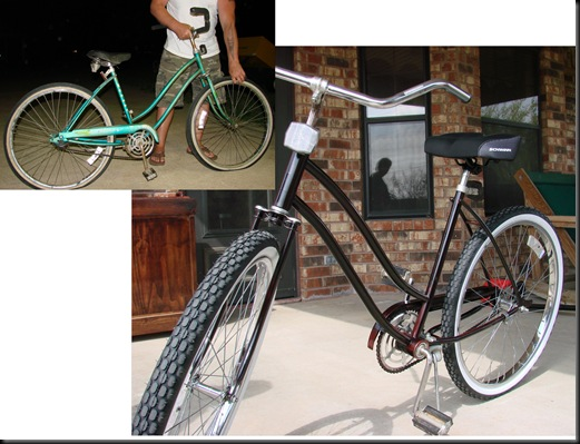 bike before & after
