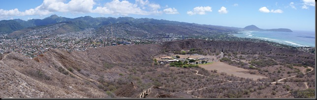 Diamond Head Crater pan