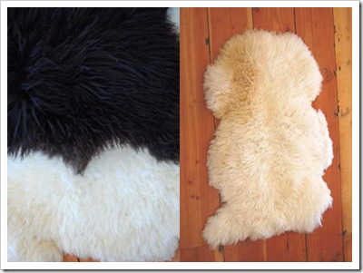 awesome farm sheepskin pelt