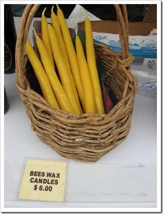 tousey beeswax candles