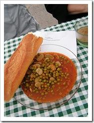 tunisian pea stew