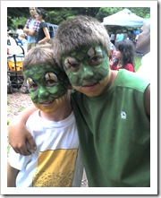 simon & oliver rands face painting