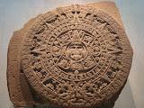 Le joyau du musée, ce complexe calendrier solaire aztèque