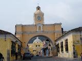 Le cliché typique d'Antigua (avec au fond un volcan mais là...)