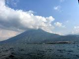 Volcan San Pedro depuis une lancha