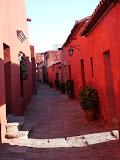 Rue dans le monastère