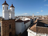 Depuis le toit de l'Iglesia de la Merced