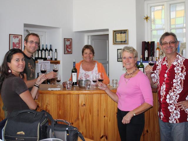 Vive le vin et l'accueil argentins!