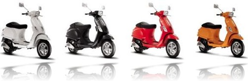 Piaggio Vespa S 125 variant colour