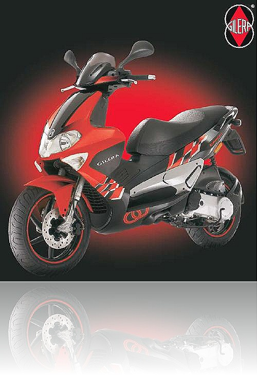 Piaggio Gilera Runner SP 50 Red