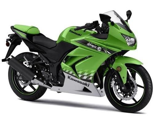 Ninja 250R 2010 lime green