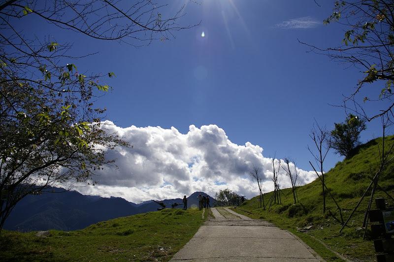 [隨拍]清境初秋之藍天白雲