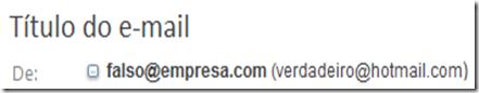 endereço de e-mail