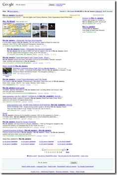 google rio de janeiro