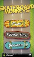 Screenshot of Skateboard Monkeys