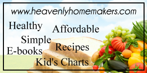 Heavenly Homemakers button