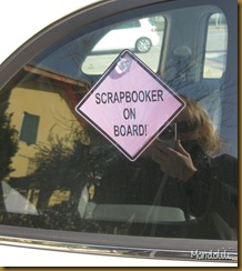 Scrapbooker on board