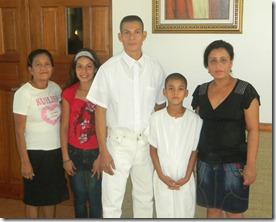 Herson Cruz baptism