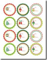 etiquetas navidad colorear.tk