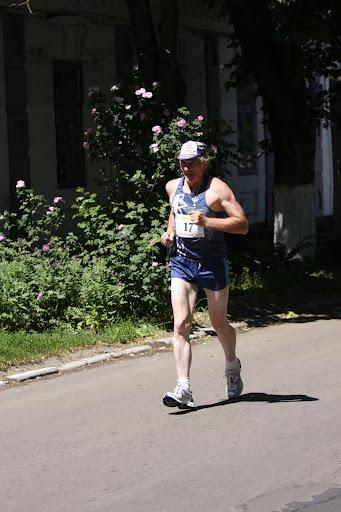 Олег на беге