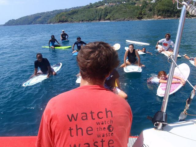 Le projet de watch the waste expliqué aux plus jeunes