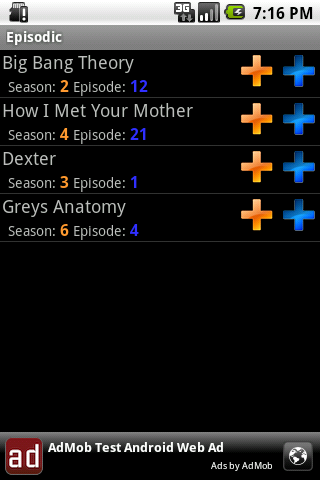 episodic for android screenshot