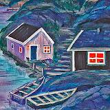 zomernacht op Lofoten