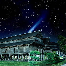Part of history at night by Rizal Fahmi - Buildings & Architecture Other Exteriors