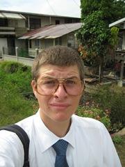 jared met grappige bril 22 juni 2009