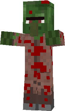 Zombie Villager Scary Blooding! And More