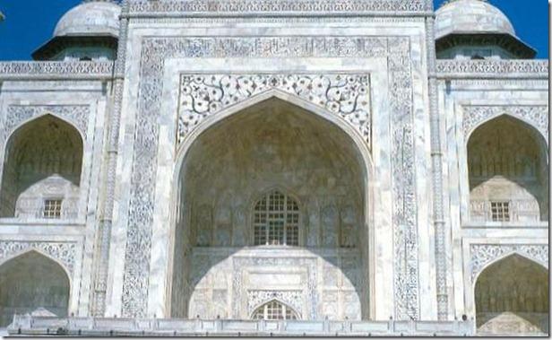 Iwan principal del mausoleo